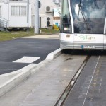 Bordure URBATRAM® sur mesure pour Tramway sur pneu.